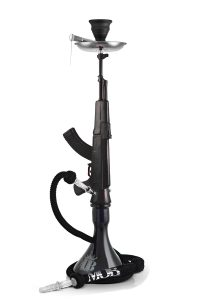 AK 47 MOB Shisha Schwarz